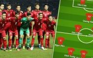 Đội hình ra sân U23 Việt Nam đấu Triều Tiên: 'Trọng sơ vin', Quái kiệt Viettel góp mặt