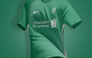 Lộ mẫu áo cực độc mới của Liverpool
