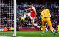 Nhận 'trái đắng' cuối trận, Arsenal đau đớn mất điểm trên sân nhà