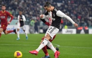Ronaldo ghi bàn, Juventus nhẹ nhàng đánh bại AS Roma
