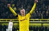 Haaland tiếp tục khiến Bundesliga rung chuyển, tạo nên thành tích 'vô tiền khoáng hậu'