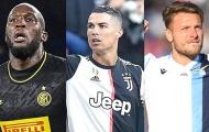 Ronaldo gọi, Immobile và Lukaku đã trả lời