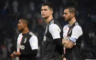 Thấy gì qua danh sách cầu thủ tham dự vòng knock-out Champions League của Juventus?
