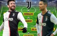Với Messi và Ronaldo, Juventus sẽ hủy diệt thế giới thế nào?