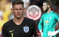 'Kẻ thay thế De Gea' không muốn trở lại Man Utd