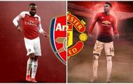 Đâu chỉ Man Utd đau khổ? Arsenal cũng đang sở hữu một 'Lingard' khác!