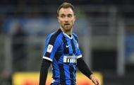 """Đấu AC Milan, Conte """"vừa đấm vừa xoa"""" Eriksen"""