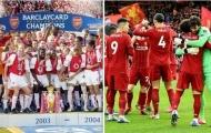Đội hình kết hợp Arsenal 2003/04 - Liverpool 2019/20: The Kop lép vế