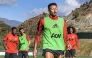 Fred, Fernandes 'đứng hình' trước Lingard trên sân tập M.U
