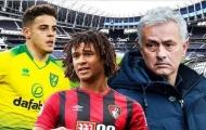 Jose Mourinho chi 120 triệu bảng để thay máu hàng thủ