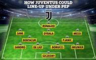 Đội hình trong mơ của Juventus: Messi, Ronaldo, Guardiola và ai nữa?