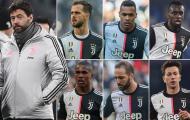Juventus và cuộc thanh trừng 6 ngôi sao lớn