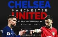 Đội hình kết hợp Chelsea - Man Utd: Kẻ gánh tuyến giữa, 'bom tấn mùa đông'