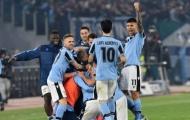Ashley Young 'khai hỏa', Inter Milan vẫn thất bại trước Lazio