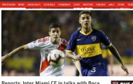 "Inter Miami chốt hạ sao Boca Juniors, Lee Nguyễn sắp ""cập bến"" V-League?"