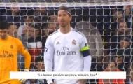 Trước khi bị đuổi khỏi sân, Ramos đã tiên đoán lời bí ẩn về Real?