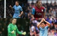 10 cầu thủ từng khoác áo Man City và Aston Villa