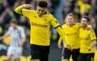Erling Haaland dự bị, Sancho tỏa sáng giúp Dortmund thắng nhẹ