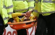 Chấn thương rợn người của sao Arsenal tại FA Cup