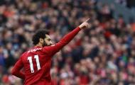 Mohamed Salah thiết lập cột mốc khủng ở Liverpool