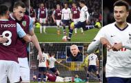 Dele Alli cứu nguy, Tottenham có trận hòa bạc nhược trước Burnley
