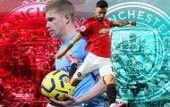 Đội hình kết hợp derby Manchester: Trảm De Gea, 'hung thần diệt quỷ' lĩnh xướng hàng công