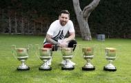 Lionel Messi vẫn là số 1 trong cuộc đua vua phá lưới La Liga