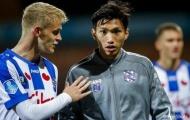Văn Hậu có mặt, Heerenveen khiến Ajax toát mồ hôi hột