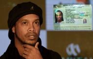 Có tổng cộng bao nhiêu người liên quan đến việc Ronaldinho bị bắt giữ?