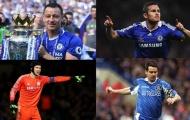 10 cầu thủ có số lần ra sân nhiều nhất trong lịch sử Chelsea: Lampard, Terry đứng thứ mấy?