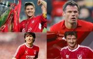 10 cầu thủ có số lần ra sân nhiều nhất trong lịch sử Liverpool: Gerrard, Carragher xếp thứ mấy?