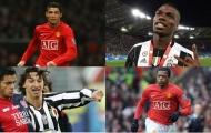 6 cầu thủ từng khoác áo Man Utd và Juventus: Ronaldo, Pogba và ai nữa?