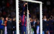 Nhìn lại khoảnh khắc Pique cắt lưới sau khi đánh bại Juve ở chung kết C1