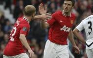 Sau hơn 10 năm, Man Utd mới thôi nỗi nhớ Scholes - Carrick