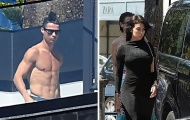 SỐC: Bạn gái Ronaldo đi mua sắm dù đang bị cách ly
