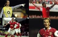 10 cầu thủ có số lần ra sân nhiều nhất trong lịch sử Arsenal: Seaman, Adams và ai nữa?