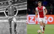 'Cậu ấy mang tinh thần của Johan Cruyff'
