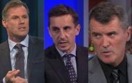 Gary Neville, Roy Keane và những huyền thoại máu lửa nhất khi làm BLV