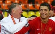 Những tình huống Sir Alex và Ronaldo thể hiện tình cảm như cha con