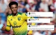 CĐV Norwich: 'Hãy bán cậu ấy cho Tottenham với giá 100 triệu bảng!'