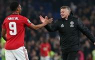 Với Solskjaer, Martial đã chuyển hóa trong vai trò mới tại Man Utd