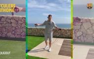 Barcelona tập luyện tại nhà tránh dịch Covid-19