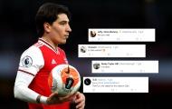 Học đòi theo Pogba, Bellerin nhận mưa 'gạch đá' từ CĐV Arsenal