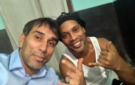 Rõ thái độ của Ronaldinho khi bị nhốt tù ở Paraguay