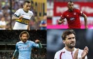13 ngôi sao bị Juventus 'đẩy ra đường' vào mùa hè năm 2015: Pirlo, Vidal và ai nữa?