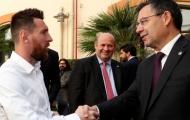 Chủ tịch Barca tiết lộ sự thật không ngờ về Messi đằng sau vụ giảm lương 70%