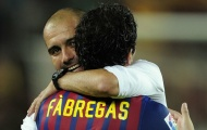 Chọn 2 HLV hay nhất, Fabregas loại bỏ Pep Guardiola
