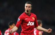 Van Persie lần đầu tiết lộ 5 đồng đội tốt nhất tại Man Utd