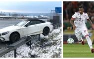 Sao Bayern gây sốc, dính vào tai nạn xe hơi giữa đại dịch COVID-19