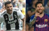 Ronaldo vượt Messi, thành cầu thủ hay nhất mọi thời đại